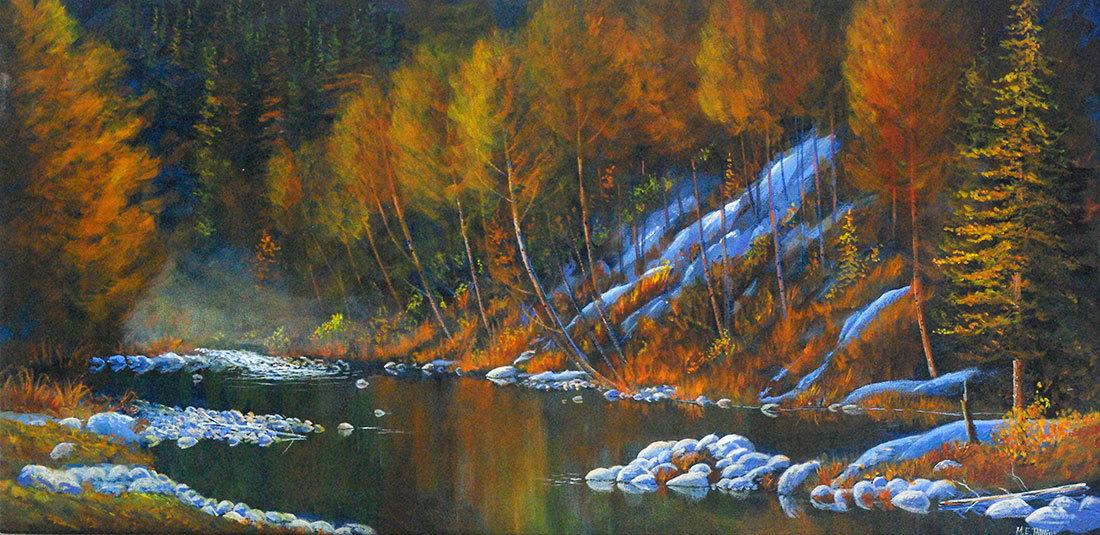 River_Dance_$2950_Framed_Oil_15x30