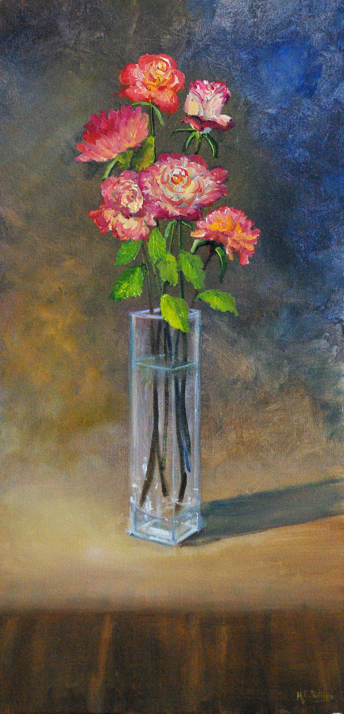 Her Favourite Roses   -  12_x_24 Oil $2150